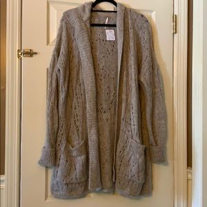 Free People duster/cardigan